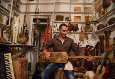 Marrakech shopkeepers are teaching Gnawa music